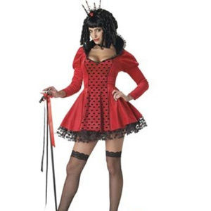 This Dark Queen of Hearts costume NEW LOT#20